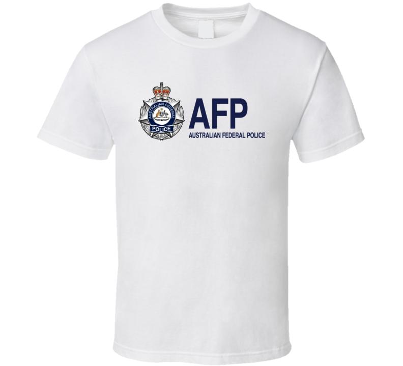 Australian Federal Police Logo Australia T Shirt
