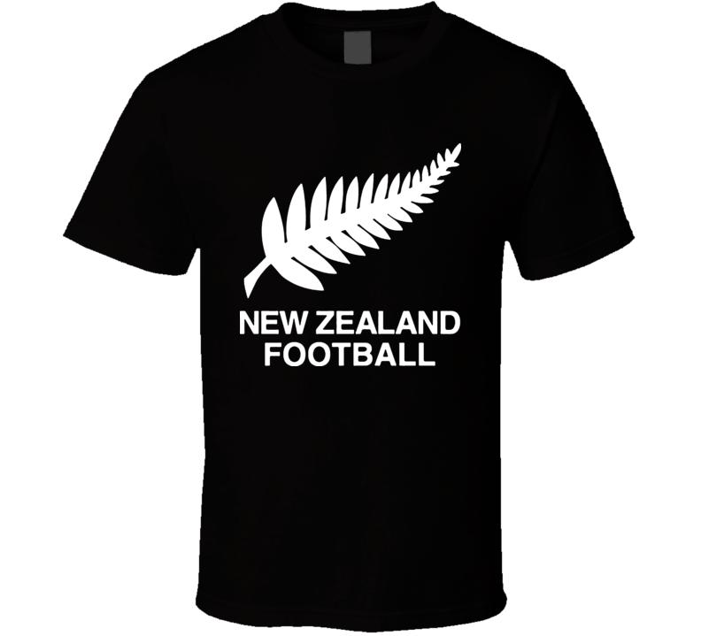New Zealand Football Logo Soccer Sports T Shirt