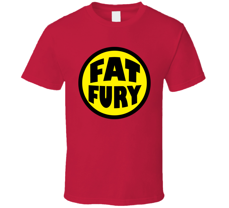 Fat Fury Herbie Comic Retro Popnecker Super Power T Shirt