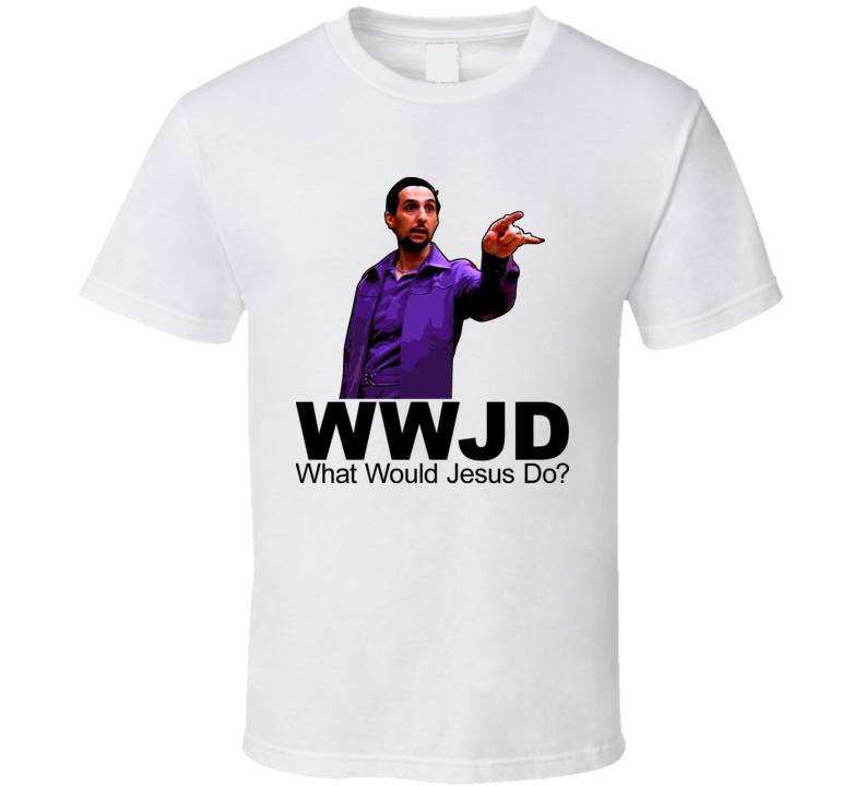 What Would Jesus Do Quintana Big Lebowski T Shirt