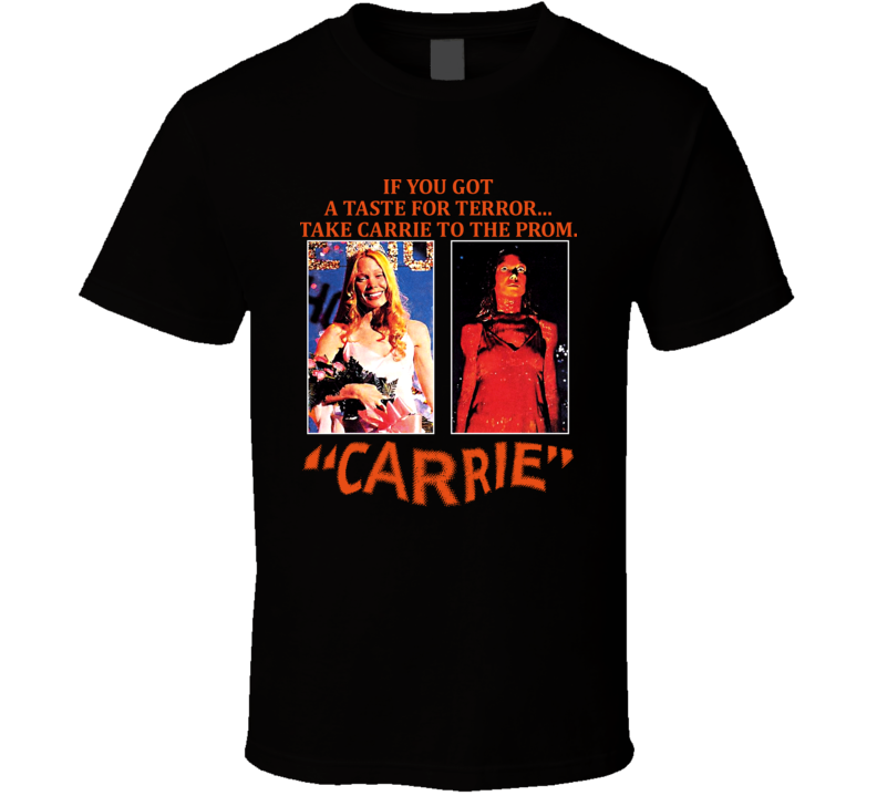 Carrie Horror Movie Vintage Retro Poster T Shirt
