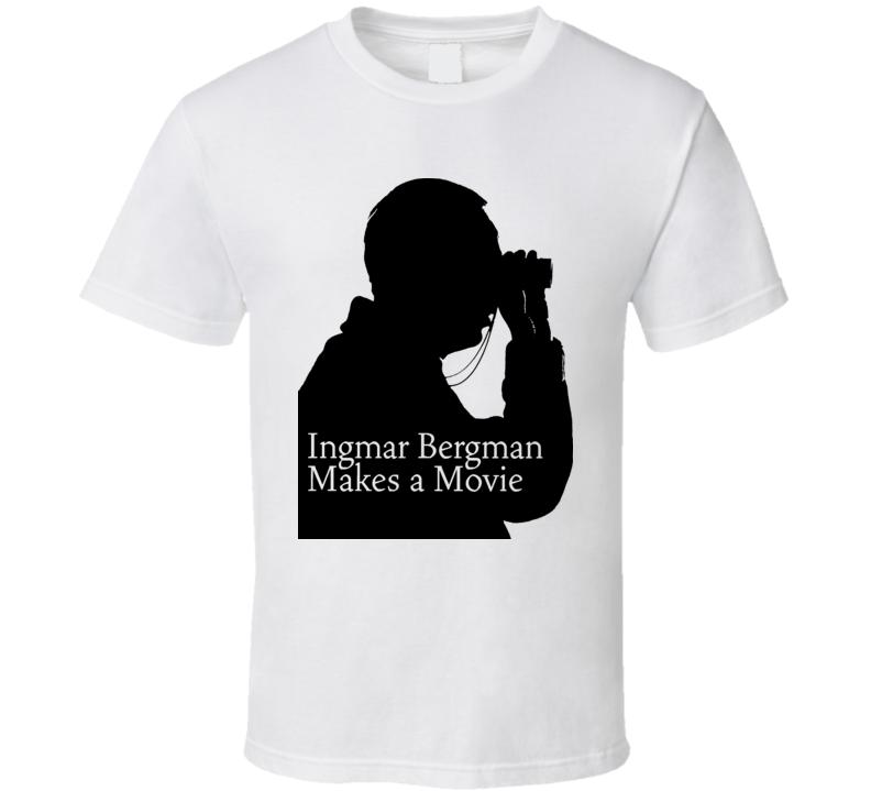Ingmar Bergman Movie Swed Director Retro T Shirt