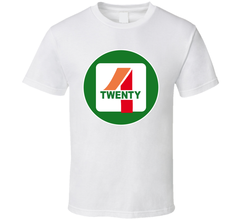 7 11 Weed Pot Four Twenty 4 20 Funny Joke T Shirt