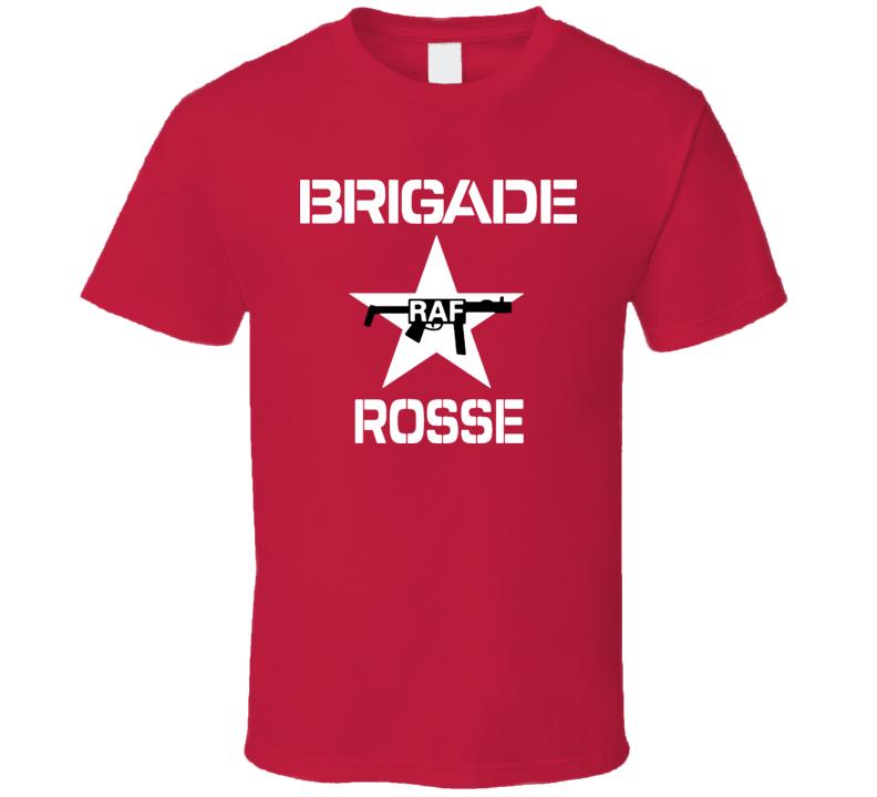 Red Brigade Rosse RAF The Clash Retro Marx Lenin T Shirt