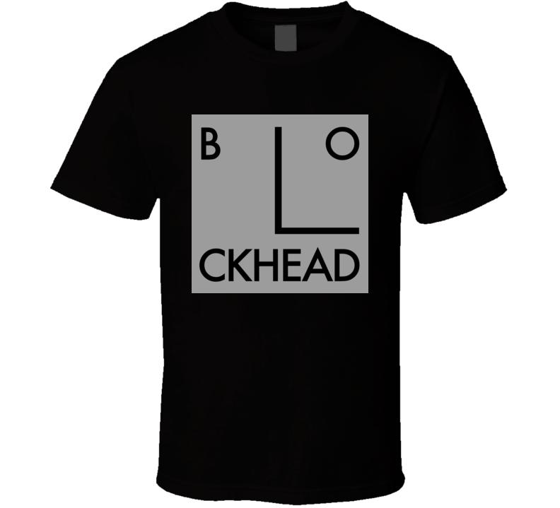 Blockheads New Wave Punk Retro Music T Shirt