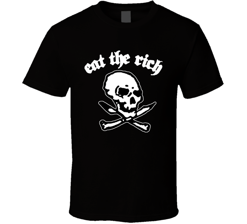 Eat The Rich Cool Dee Dee Pirate Rock N Roll T Shirt