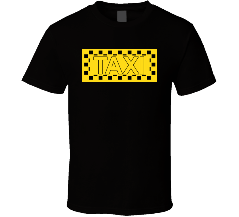 Taxi NYC Punk Retro Cool New Wave T Shirt