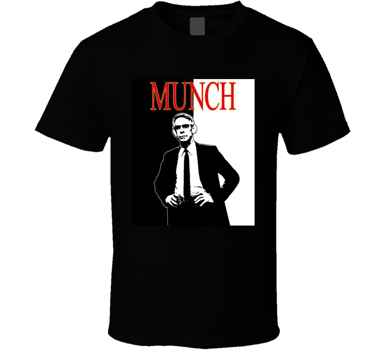 John Munch Law And Order TV Show SVU Cool T Shirt