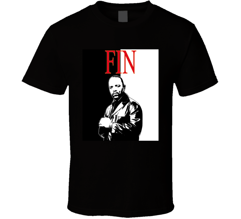 Odafin Fin Law And Order Detective TV Show T Shirt