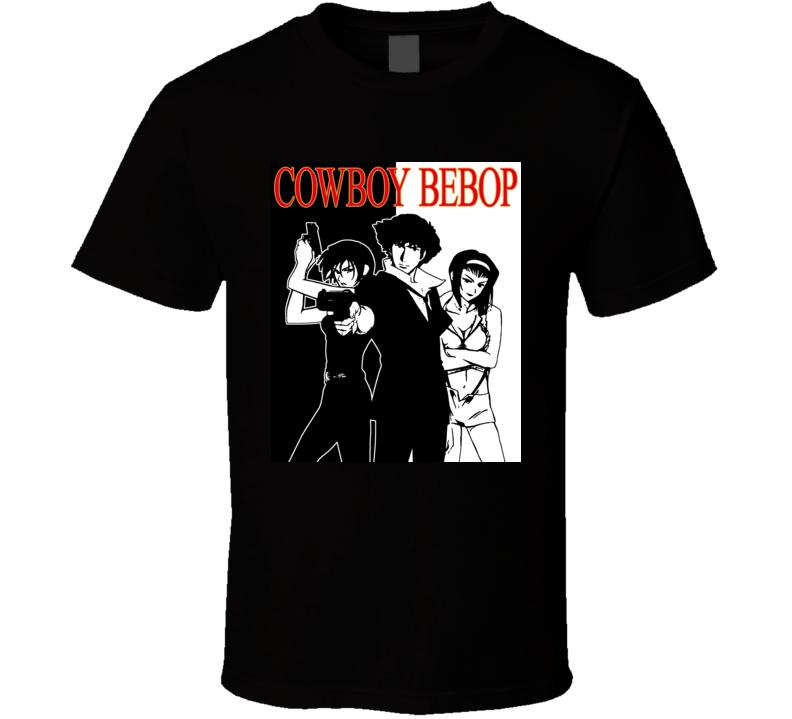 Cowboy Bebop Anime Space Sci Fi Cool T Shirt