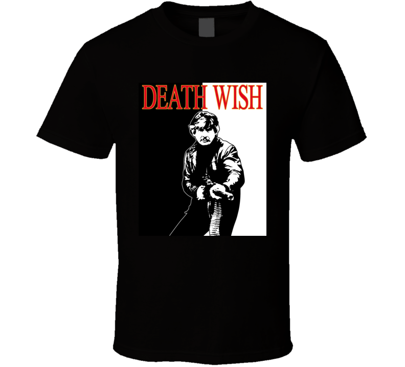 Charles Bronson Death Wish Retro Movie T Shirt