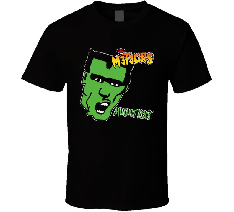 The Meteors Mutant Rock T Shirt