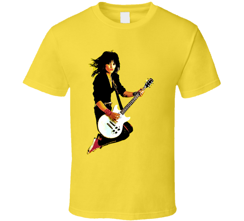 Joan Jett Rocker Runaways 80s Retro Rock N Roll T Shirt
