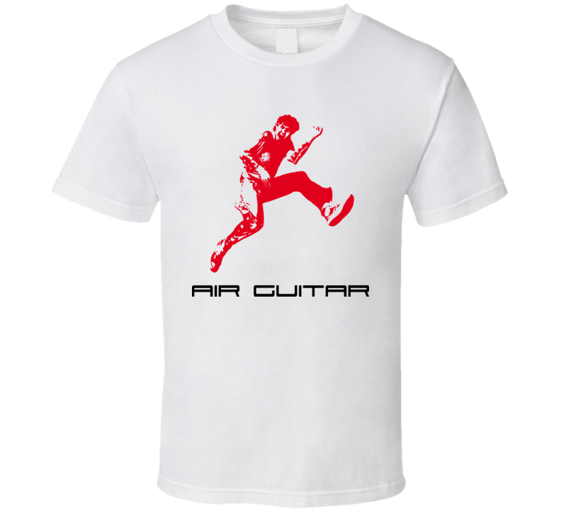 Air Guitar Funny Music Sport Rock And Roll Metal T Shirt