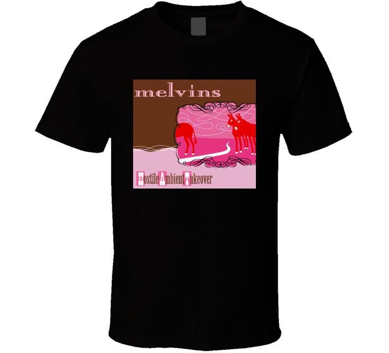 Melvins Hostile Ambient Take Over Music T Shirt