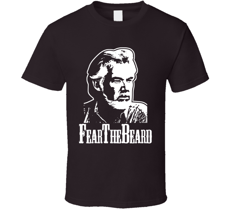 Kenny Rogers Country Beard Funny Music Retro T Shirt