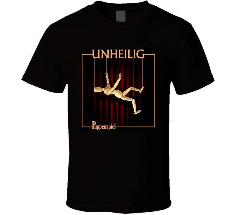 Unheilig Puppenspiel Music Der Graf German T Shirt
