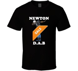 Cam Newton Dab Dabbing The Dab Dance Carolina Panthers look at me dab T Shirt