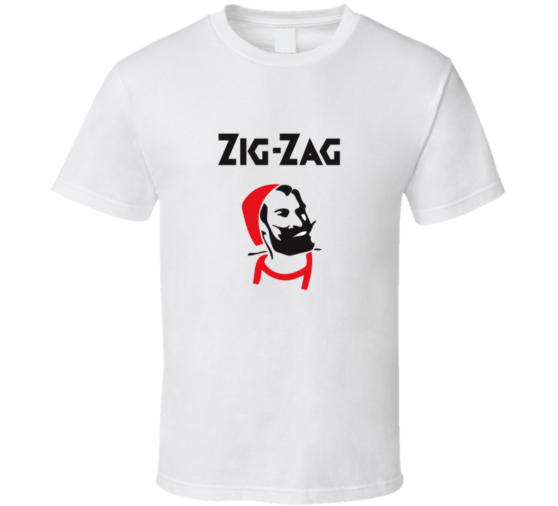 Zig Zag papers / rolling papers zig zag t shirt