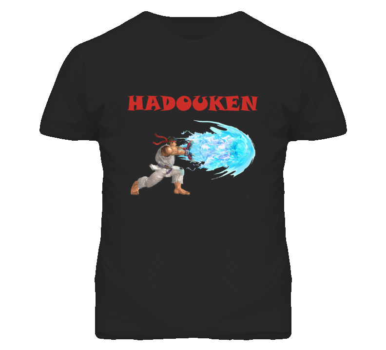 Hadouken Ryu Vs Ken Street fighter  T Shirt