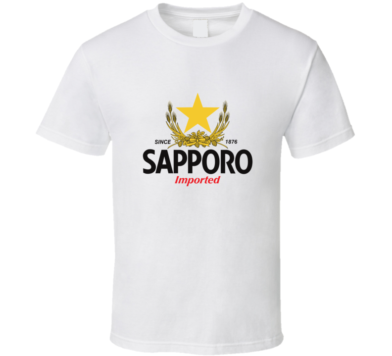 Sapporo Beer Japanese T-shirt