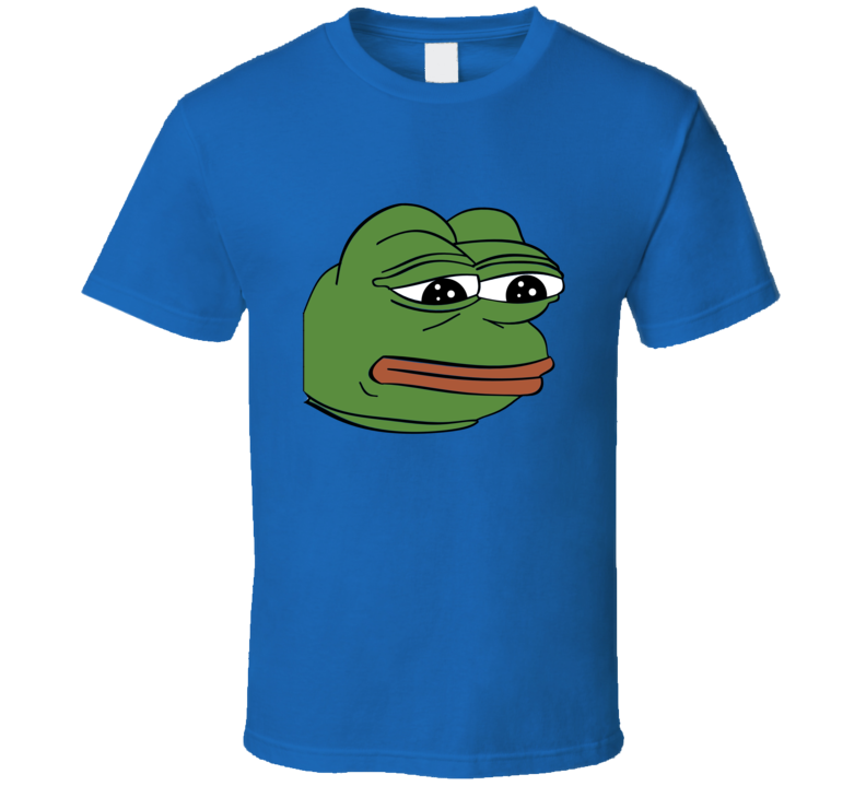 Sad Happy Meme Pepe the Frog T Shirt