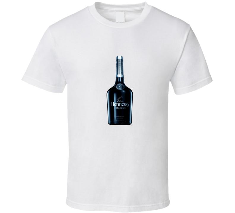 Black Cognac Alcoholic bottle T Shirt