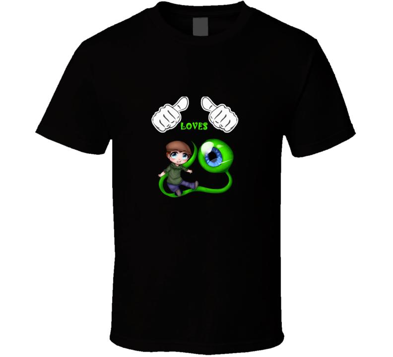 Love Jack Septic Eye Fan T Shirt
