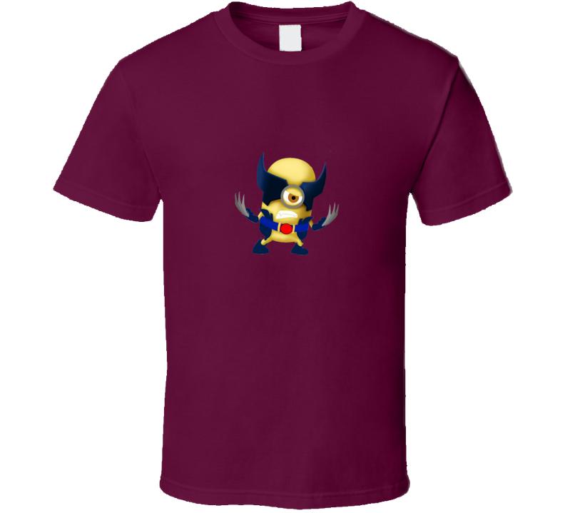 Wolverine Minion T Shirt