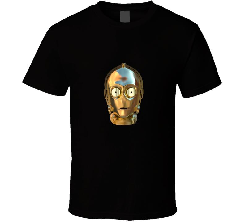 C3P0 Star Wars Treck T-shirt
