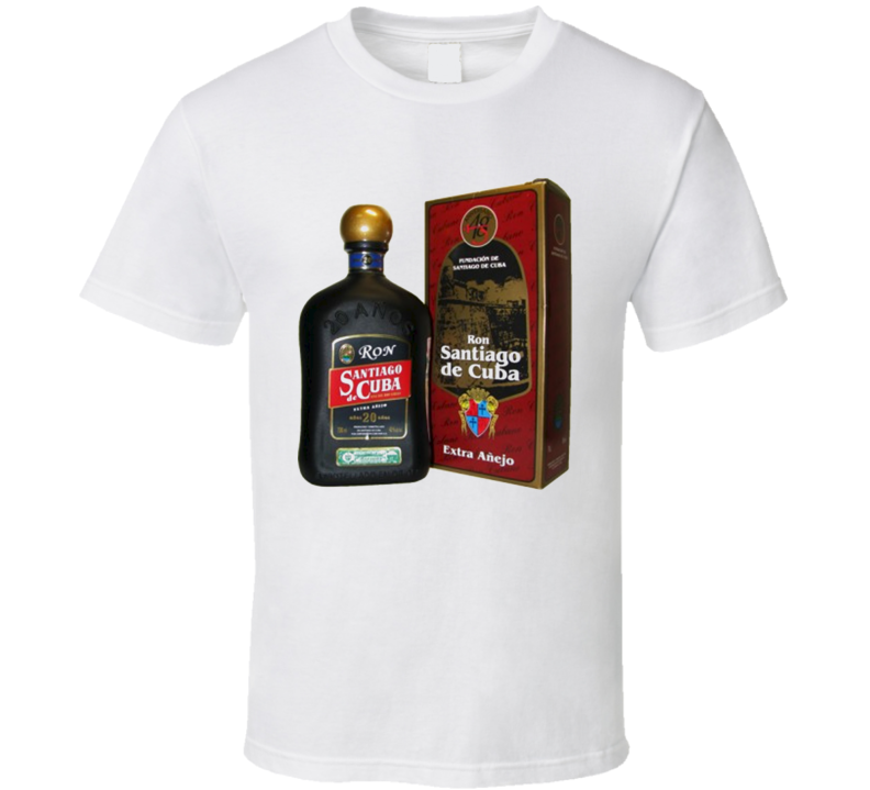 Cuban Santiago Rum T Shirt