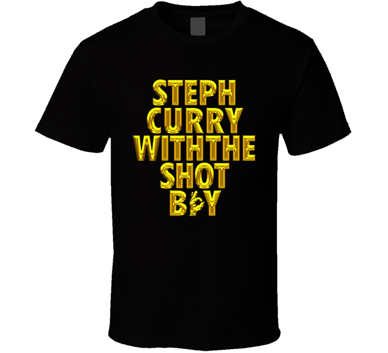 Stephen Curry With the shot boy T Shirt