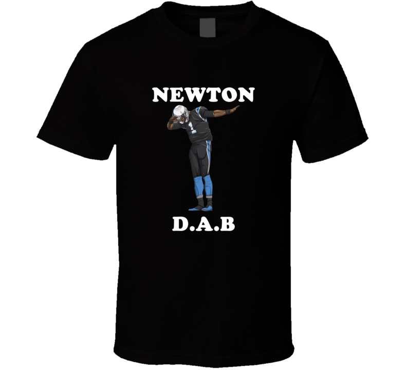 Cam Newton Panthers New Do the Dab Dance Dabbing Dab T-shirt