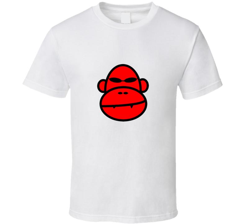 Red Monkey  T Shirt