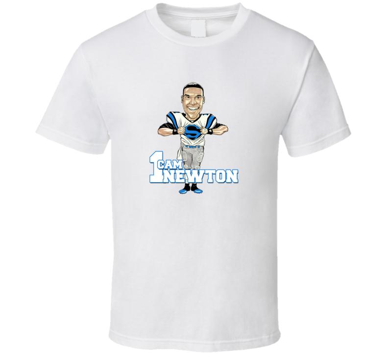 Cam NewtonSuperB Bowl 50  T Shirt