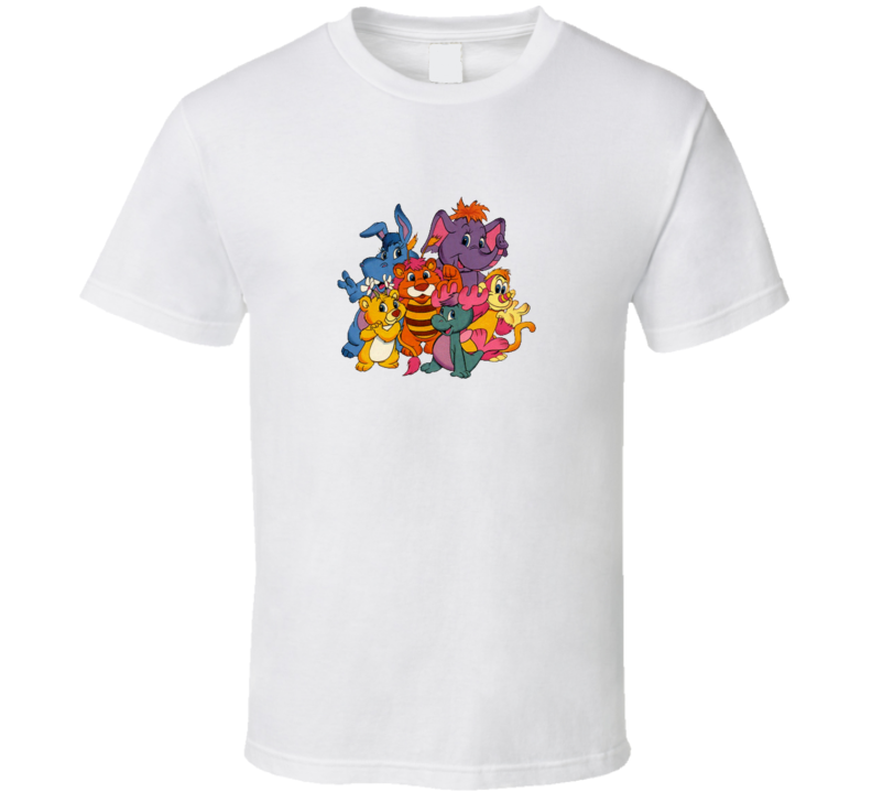 Old School Wuzzles T Shirt
