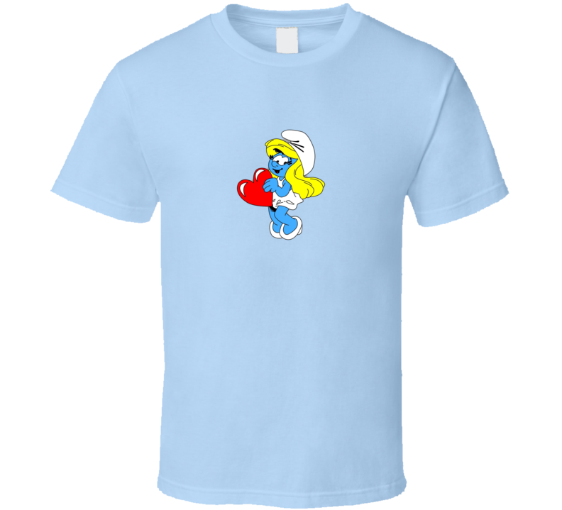 Smurfette Smurfs T Shirt