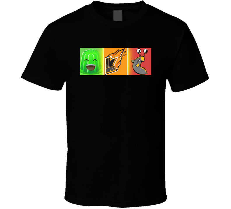 Slogoman, Kwebbelkop and Jelly The Youtubers T Shirt
