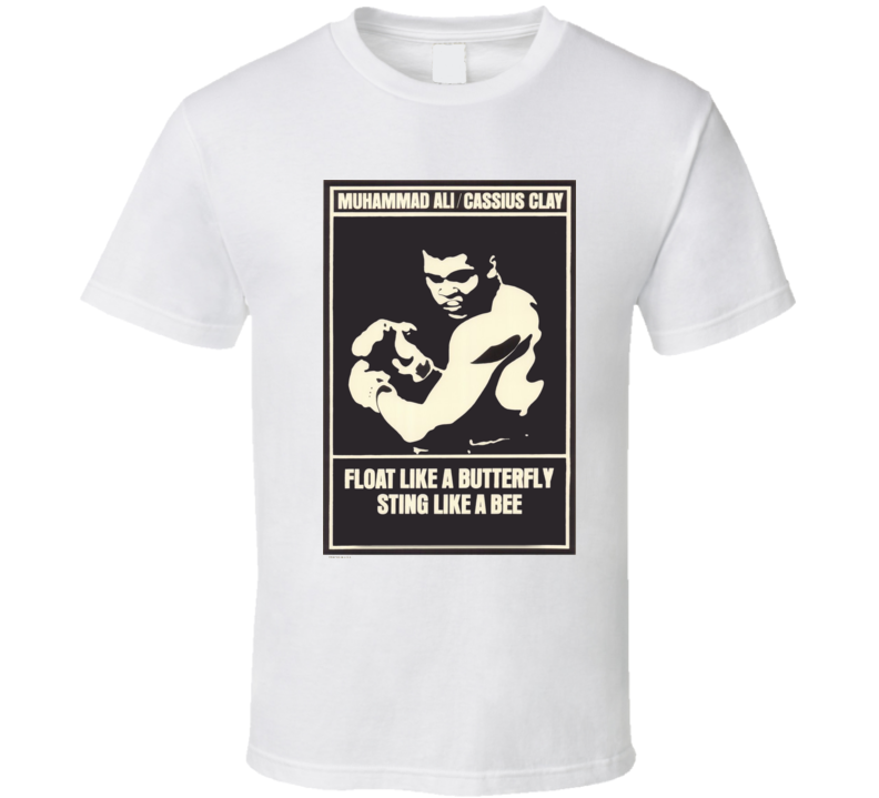 RIP Muhammad Ali Shirt Cassius Clay Float Like a Butterfly