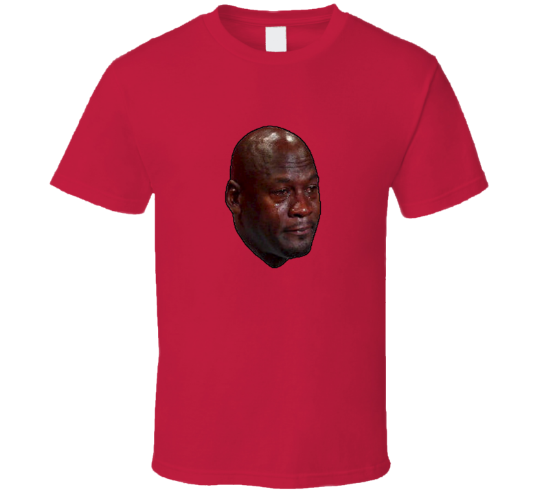 Michael Jordan Meme Crying, MJ Meme Crying Parody T Shirt