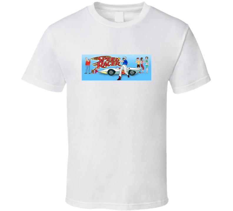 Speed Racer. Mach GoGoGo. Racer X Cartoon T Shirt