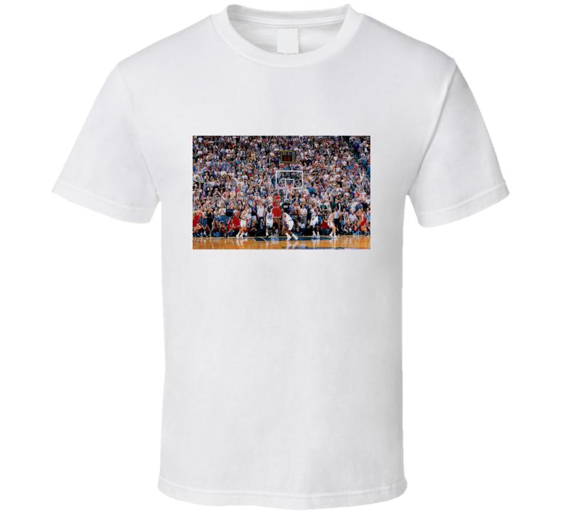 Michael Jordan Game Winner over bryon russell Utah Jazz T Shirt