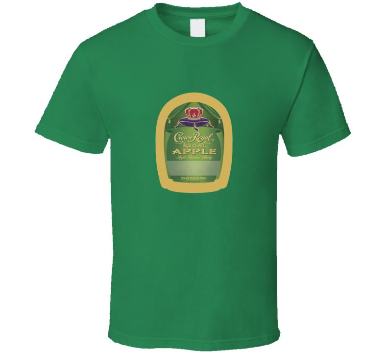 Crown Royal Green Apple T Shirt
