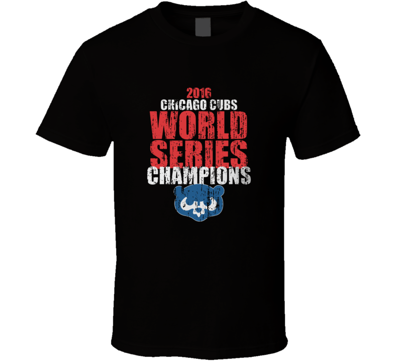 World Series Chicago Cubs Champion  T Shirt