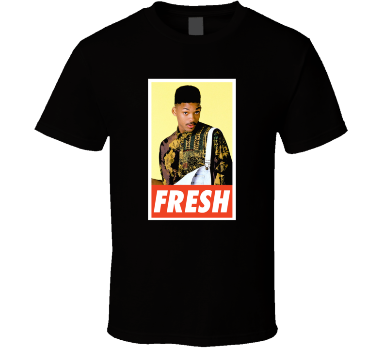Will Smith Fresh Prince Of Bel Air Fresh T-shirt
