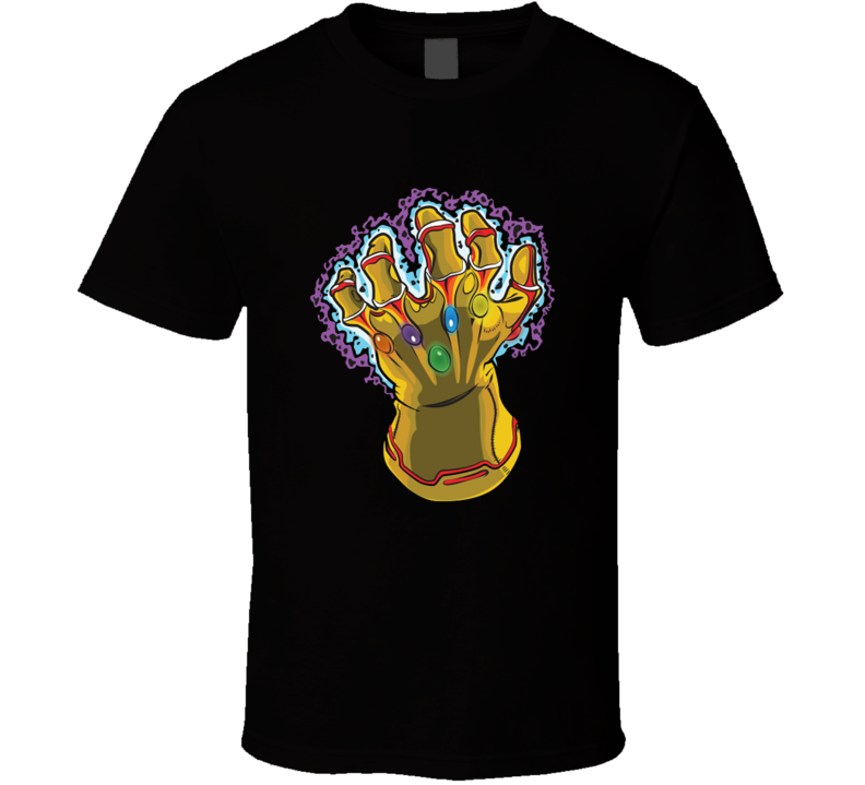 Infinity Gauntlet Thanos Hand T Shirt