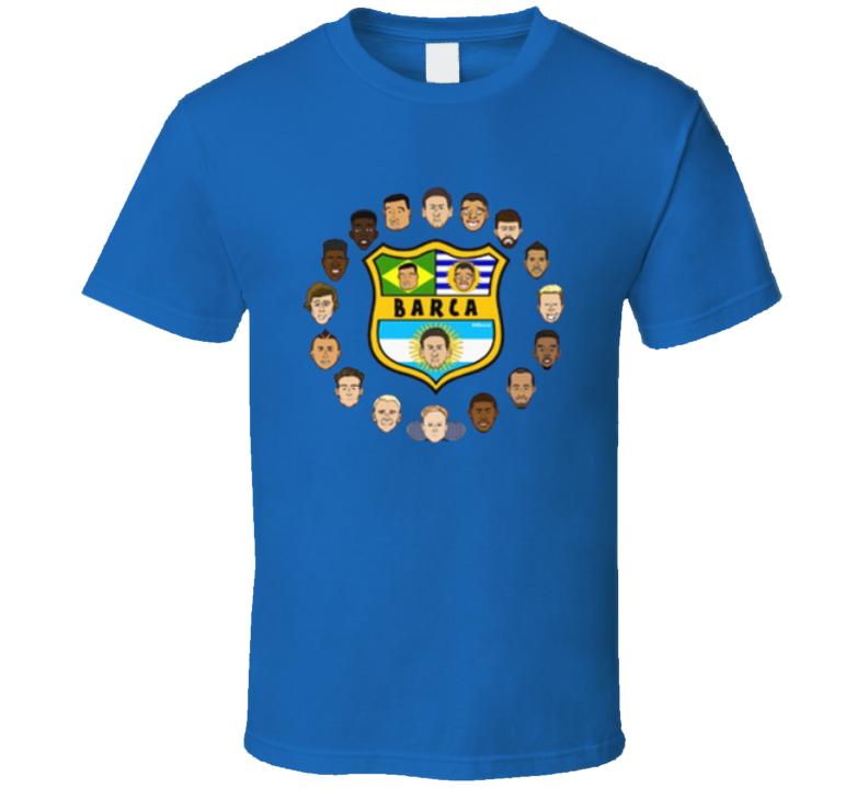 Barca 442oons T Shirt