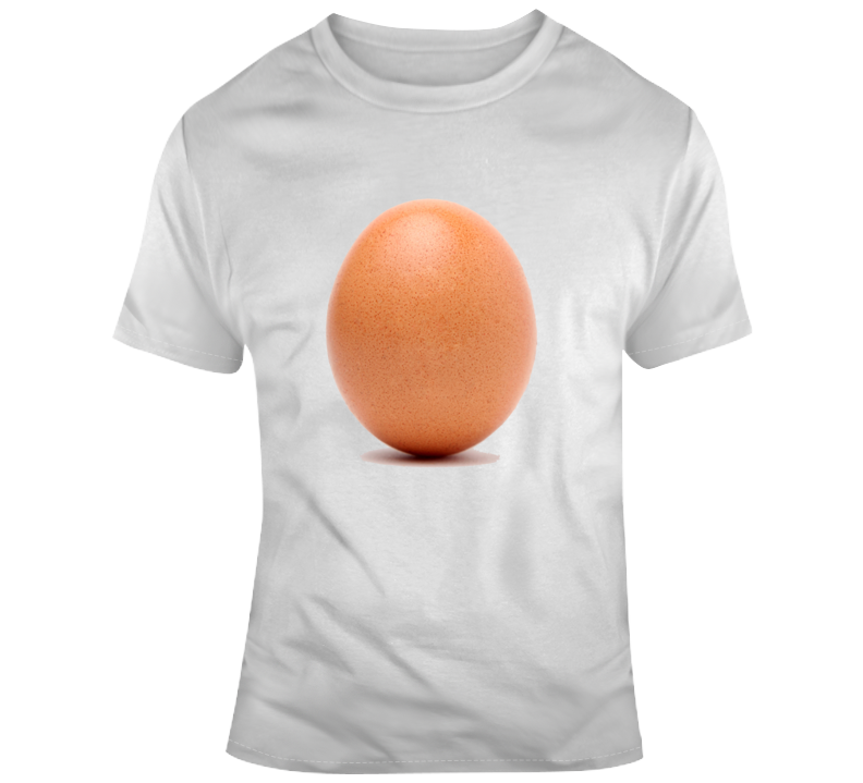 Most Liked Instragam Post World Record Egg T-shirt