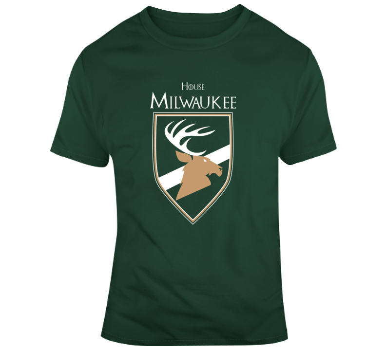 House Of Milwaukee Games Of Thrones Parody T-shirt