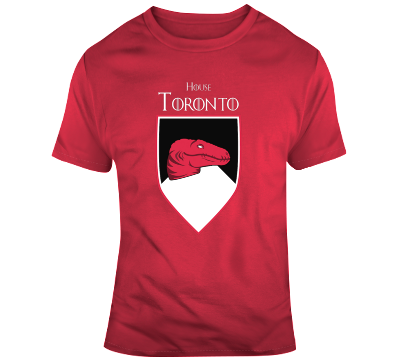 House Of Toronto Raptors Games Of Thrones Parody T-shirt